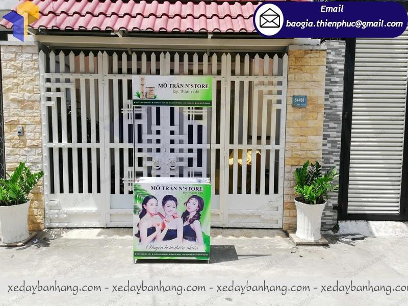 Booth bán hàng mini ở sài gòn