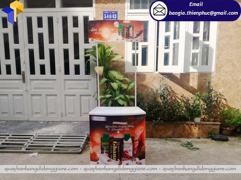 booth bán hàng quảng cáo