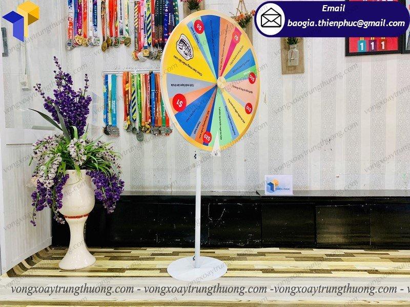 vòng quay tổ chức gameshow hội chợ giá rẻ