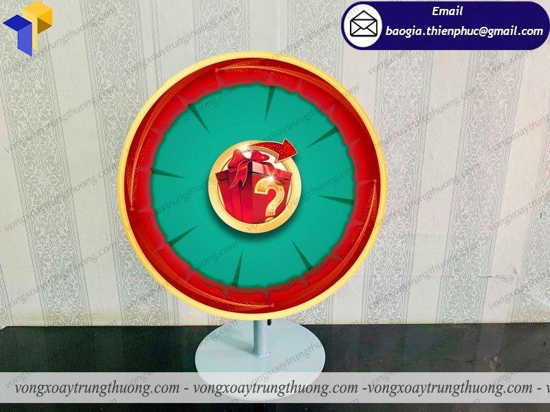 thiết kế vòng xoay để bàn trúng quà