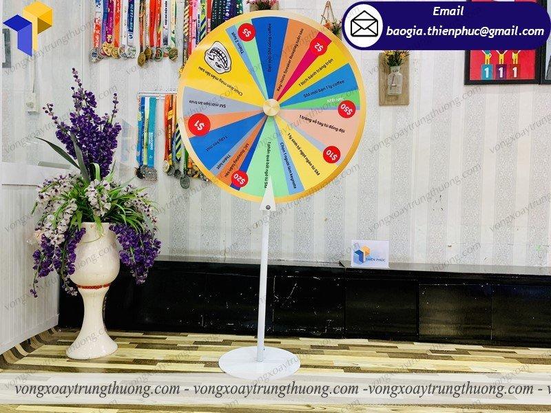 vòng quay tổ chức gameshow hội chợ